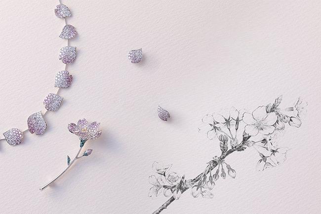 桜のジュエリー